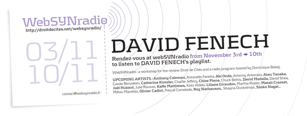 webSYNradio david_fenech_websynradio-eng600 Variations de David Fenech Podcast Programme  Revue Droit de cites