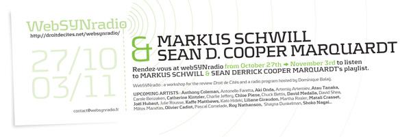 webSYNradio schwill_cooper_websynradio-eng600 Une émission de Markus Schwill Podcast Programme  Revue Droit de cites