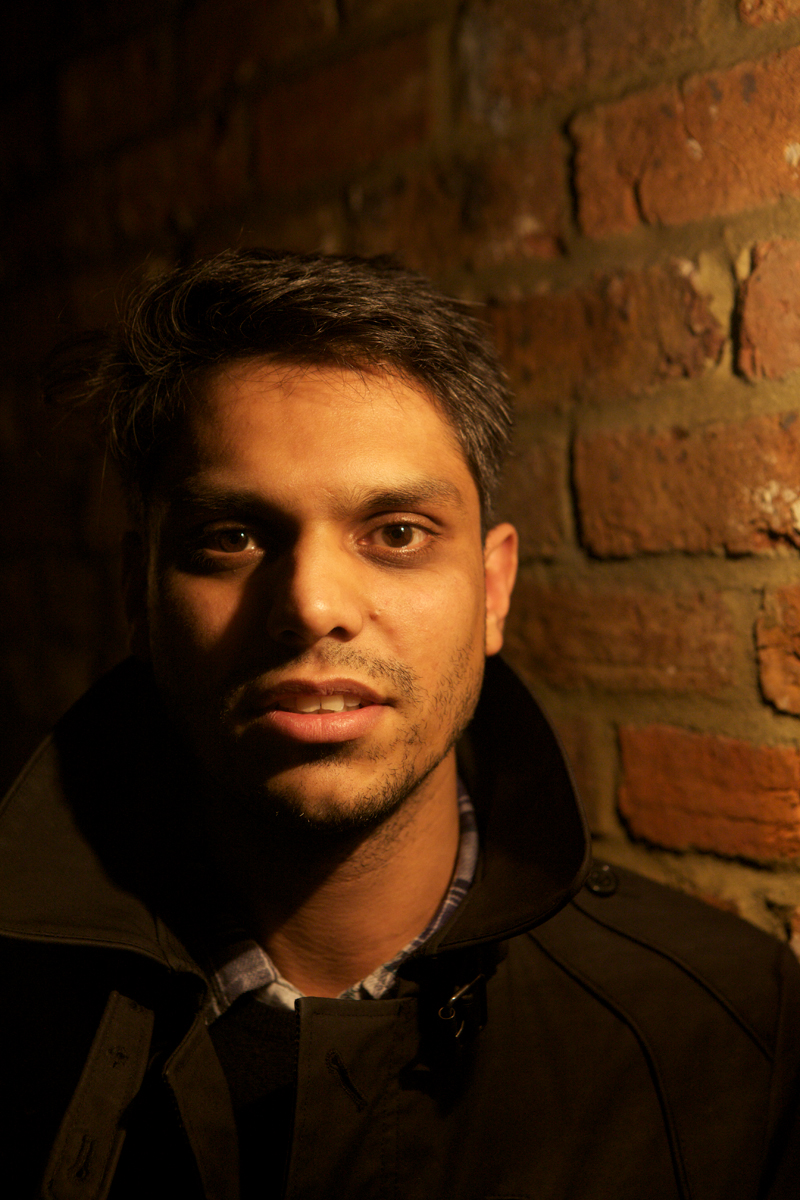 Haroon Mirza, photo Simon Pollock 2011