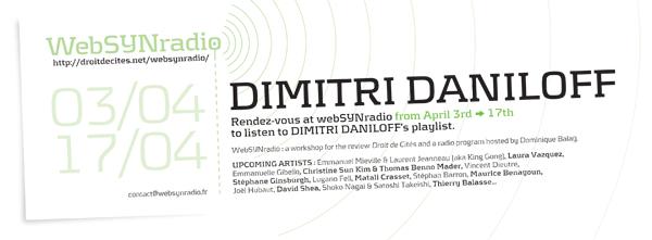webSYNradio SYN-flyer162-Dimitri-DANILOFF-eng600 Dimitri Daniloff : Pas que l'image (un voyage sonore, de Soweto à Los Angeles) Podcast Programme  Revue Droit de cites