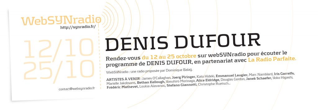 webSYNradio Denis Dufour