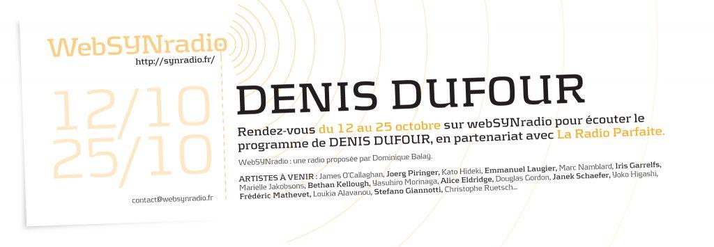 webSYNradio Denis Dufour