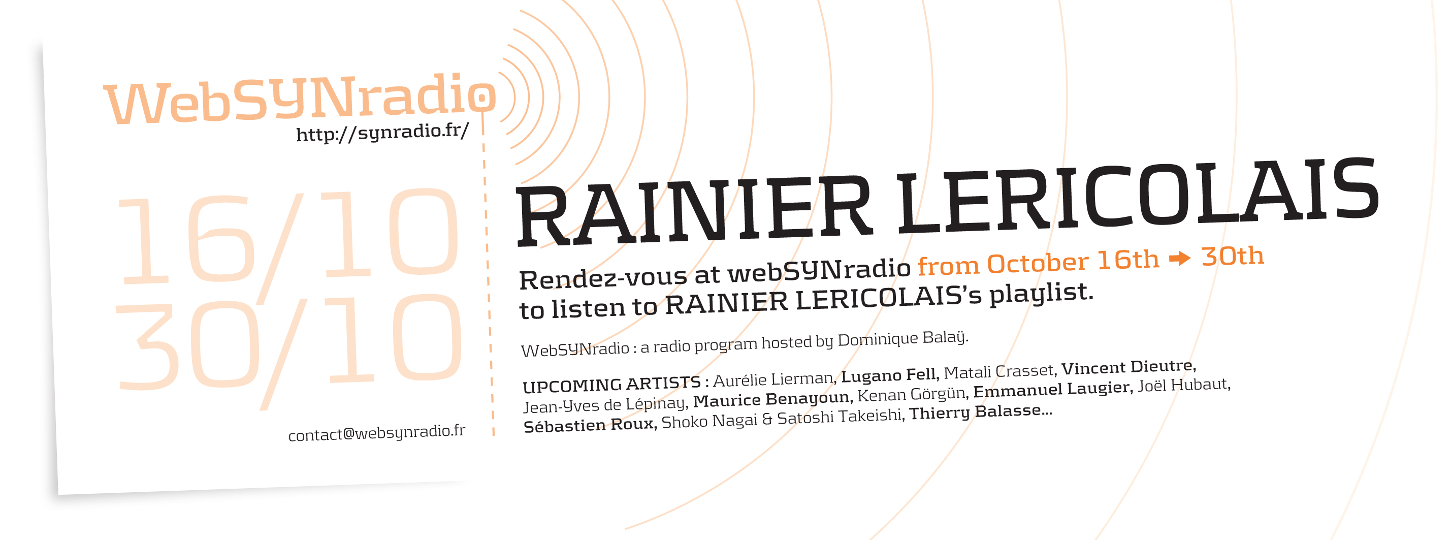 rainier lericolais websynradio