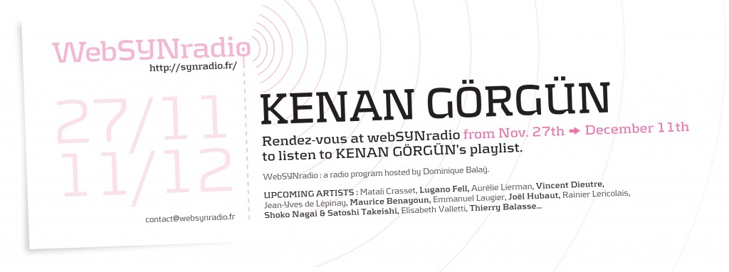 webSYNradio-flyer172-Kenan-GORGUN-eng