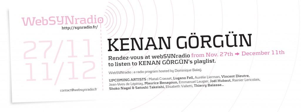 webSYNradio webSYNradio-flyer172-Kenan-GORGUN-eng-1024x382 Un voyage de Kenan Görgün sur webSYNradio Podcast Programme