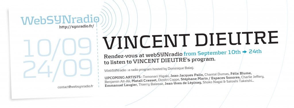websynradio Vincent-DIEUTRE