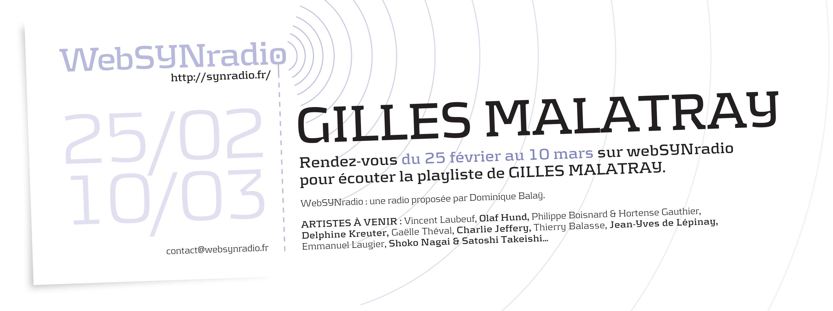 Gilles-Malatray websynradio
