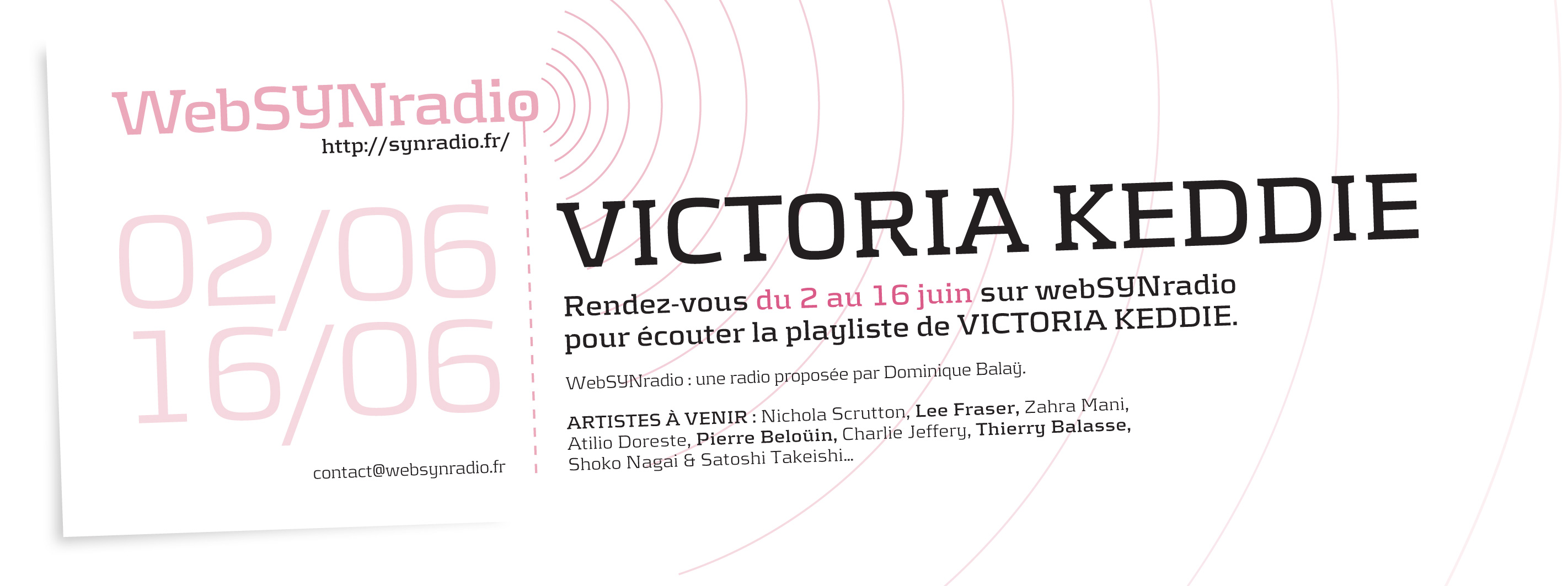 webSYNradio SYN-flyer207-Victoria-Keddie-fra Introduction à la mécanique quantique par Victoria Keddie Podcast Programme