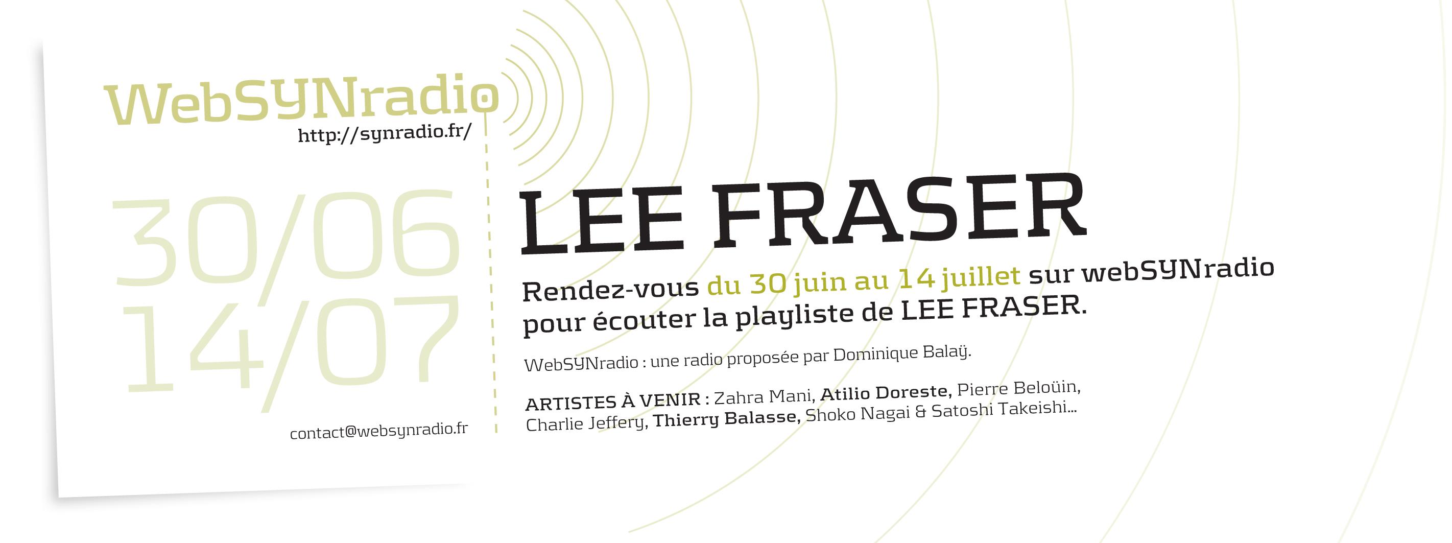 Lee Fraser websynradio