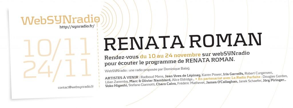 webSYNradio SYN-flyer-214-Renata-Roman-fra-1024x380 Renata Roman - FROM THIS SIDE: LATIN #2 Podcast Programme