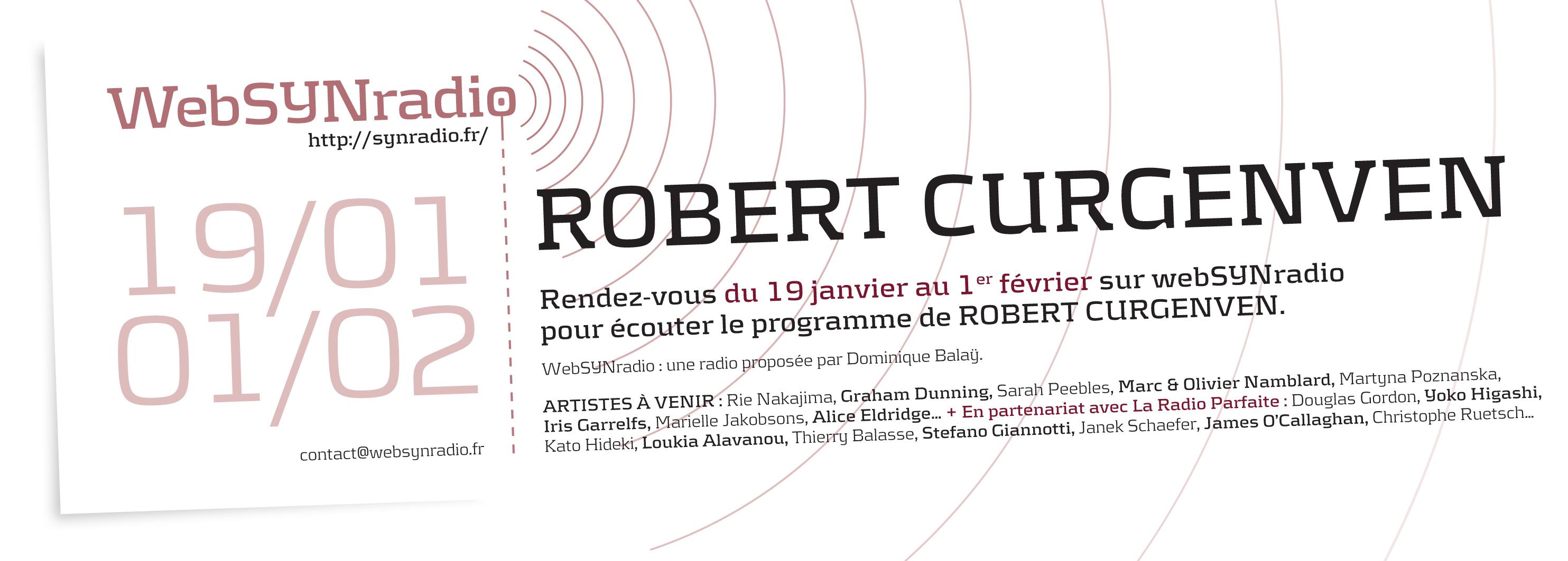 Robert Curgenven websynradio