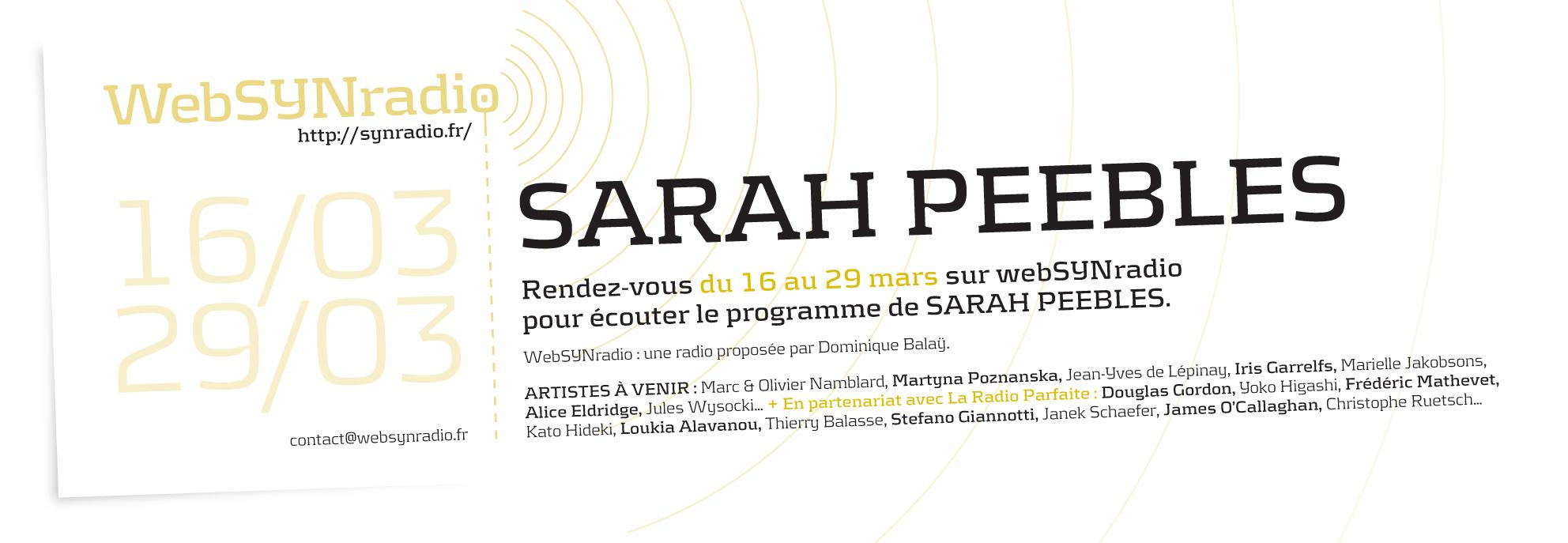 Sarah-Peebles