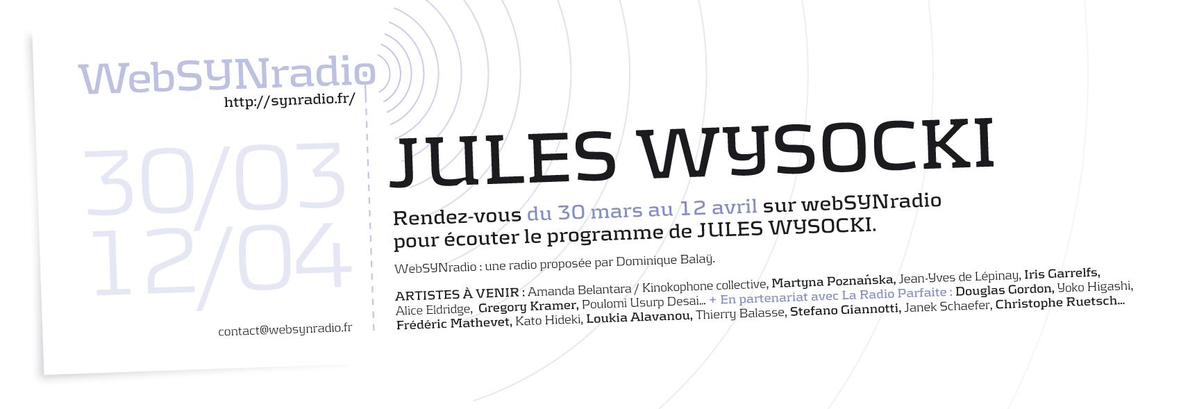 Jules Wysocki websynradio