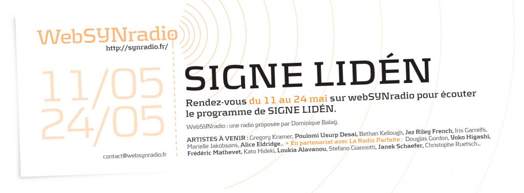 websynradio Signe Liden