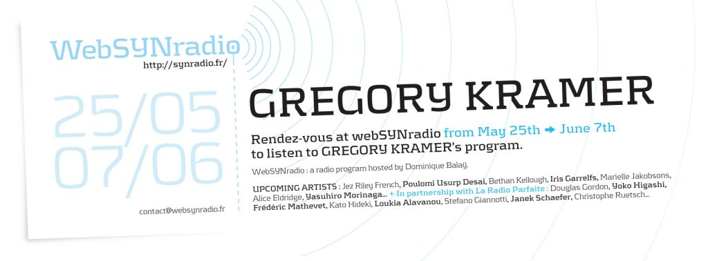 Gregory Kramer websynradio