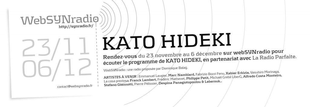 Kato Hideki websynradio