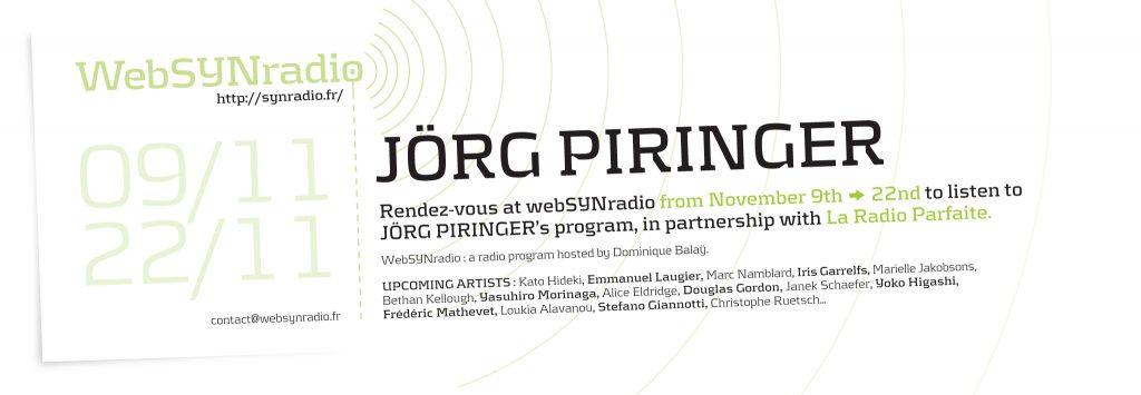 Jorg Piringer websynradio