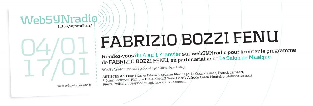 fabrizion Bozzi Fenu websynradio salon de musique