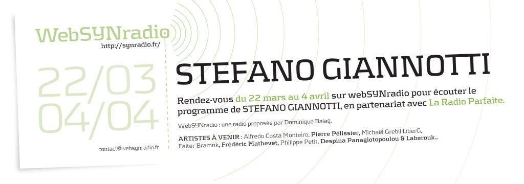 webSYNradio SYN-flyer-242-Stefano-Giannotti-fra-1-1024x360 Stefano Giannotti : Enfance, adolescence, jeunesse Podcast Programme