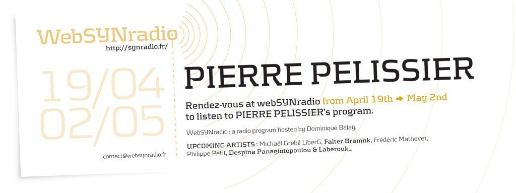 webSYNradio SYN-flyer-244-Pierre-Pelissier-eng-1-1024x383 Pierre Pélissier :  Encore raté ... Podcast Programme