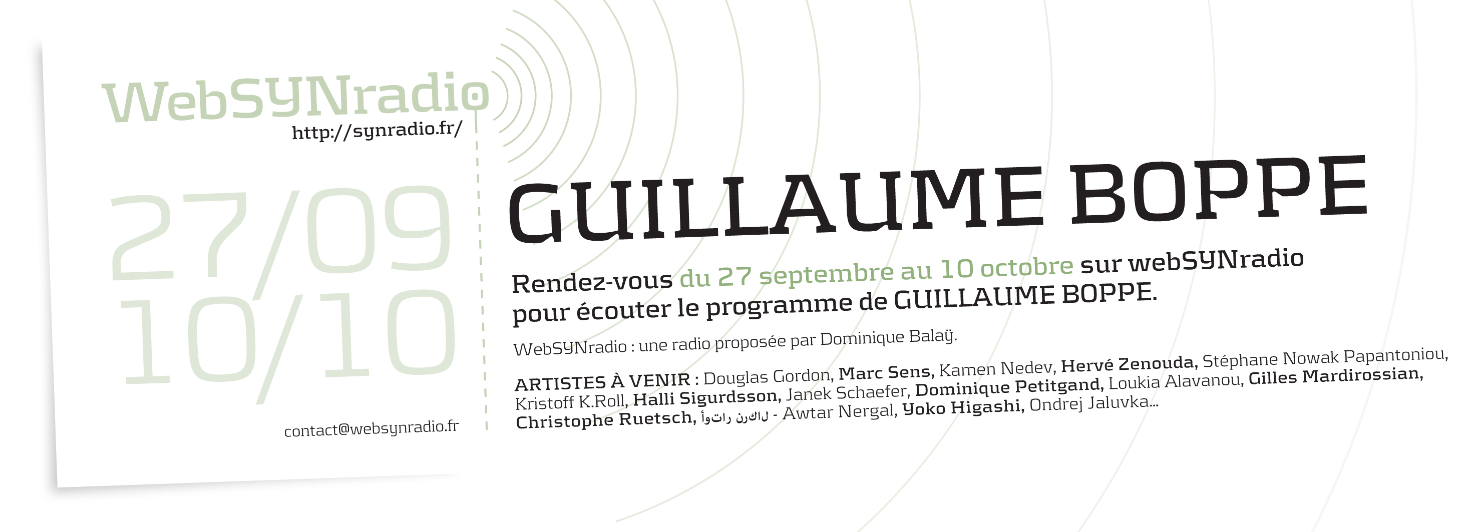 Guillaume-Boppe synradio