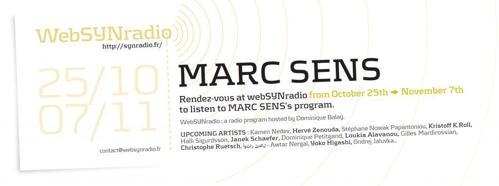 webSYNradio SYN-flyer-252-Marc-Sens-eng-1024x383 Marc Sens en quelques albums Podcast Programme