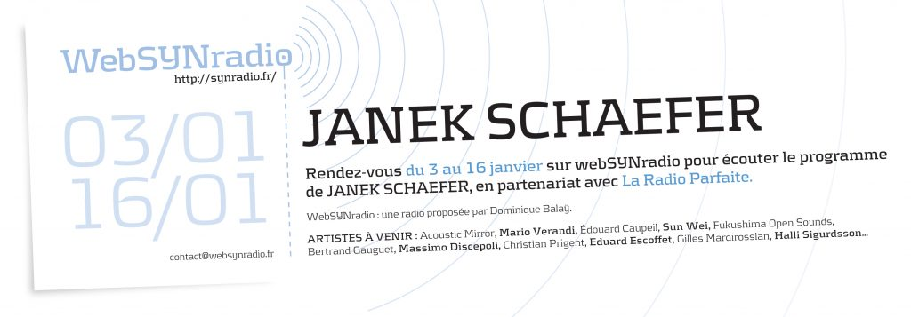 Janek-SCHAEFER websynradio