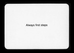always-first-steps