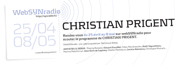 webSYNradio Christian-PRIGENT