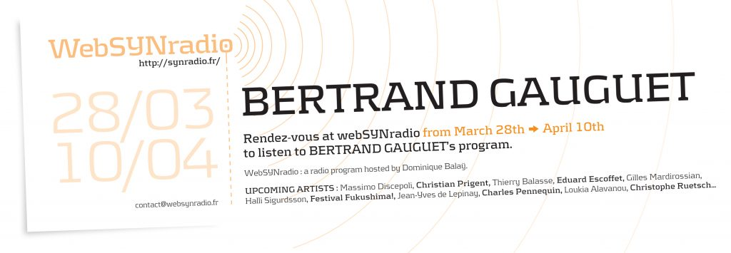 Bertrand-GAUGUET webSYNradio