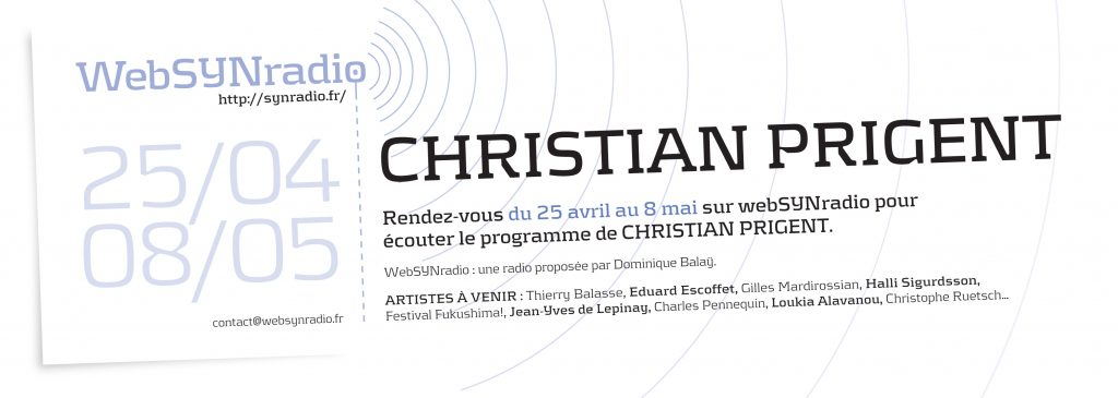 Christian PRIGENT websynradio
