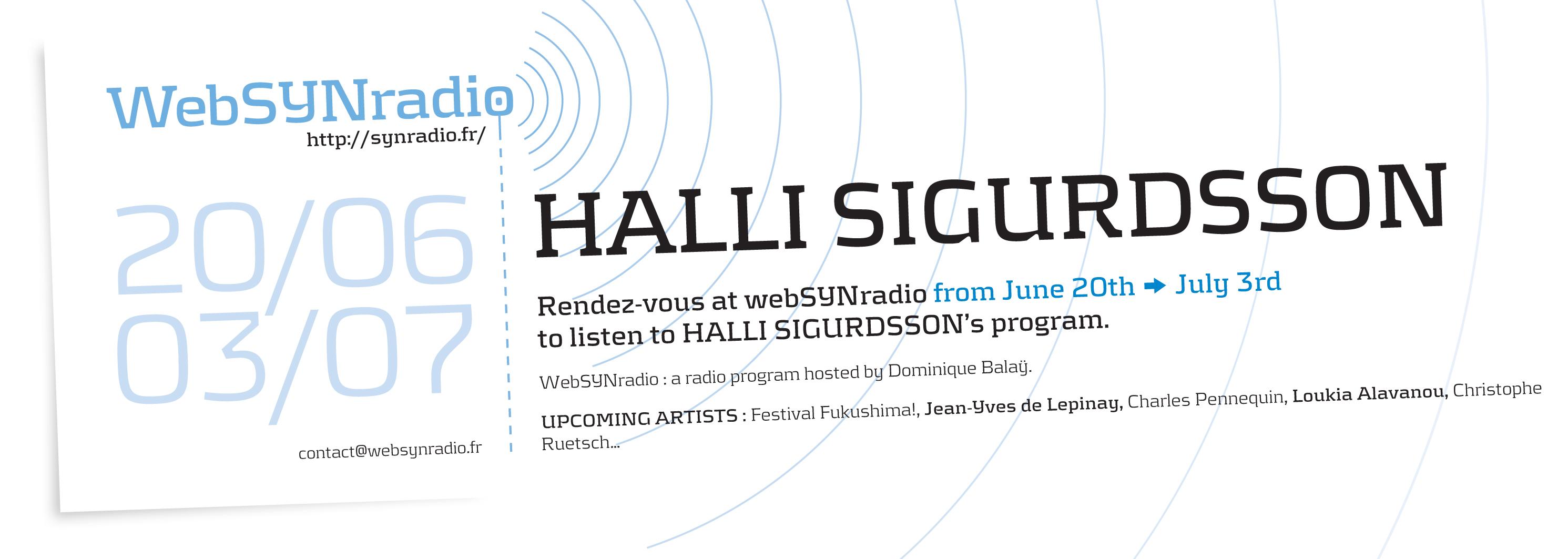 Halli-SIGURDSSON websynradio