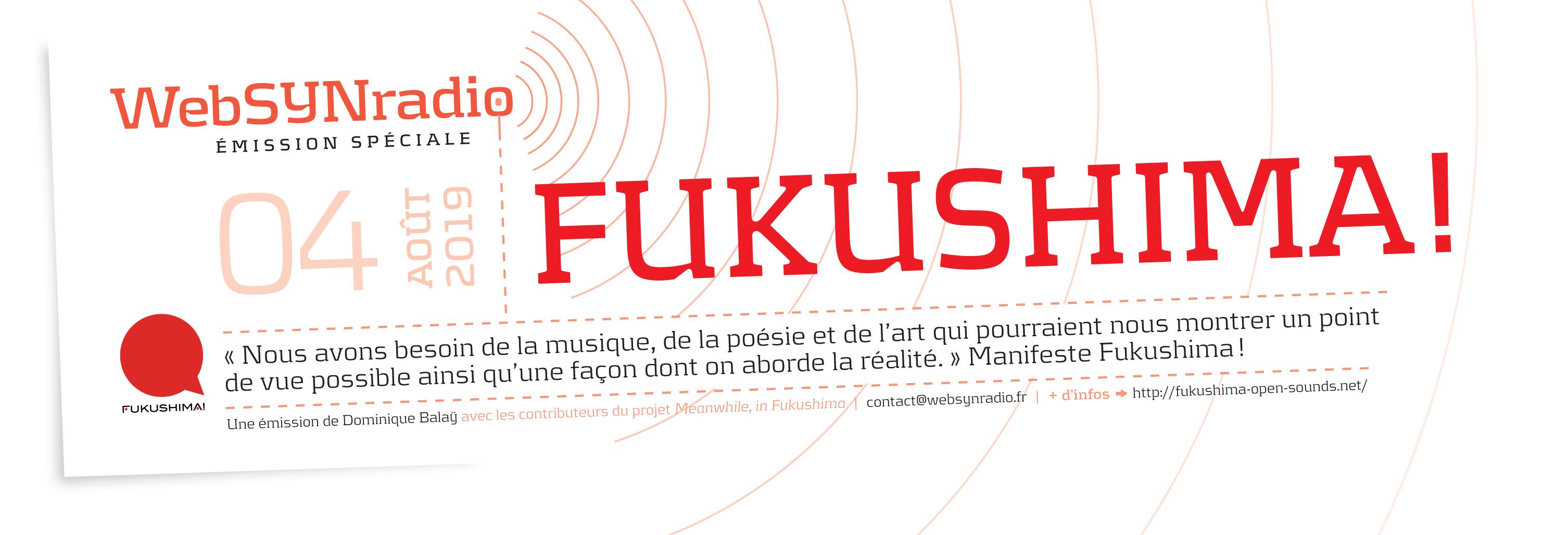 webSYNradio SYN-flyer-FUKUSHIMA-040819-fra festival Fukushima! : 9eme édition Fukushima Programme